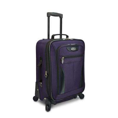 Charleville 20 in. Purple Spinner Luggage