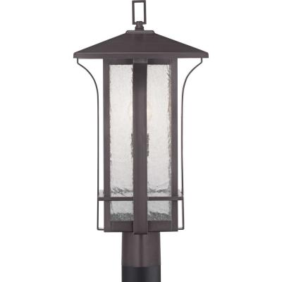 Cullman Collection 1-Light Antique Bronze Post Lantern