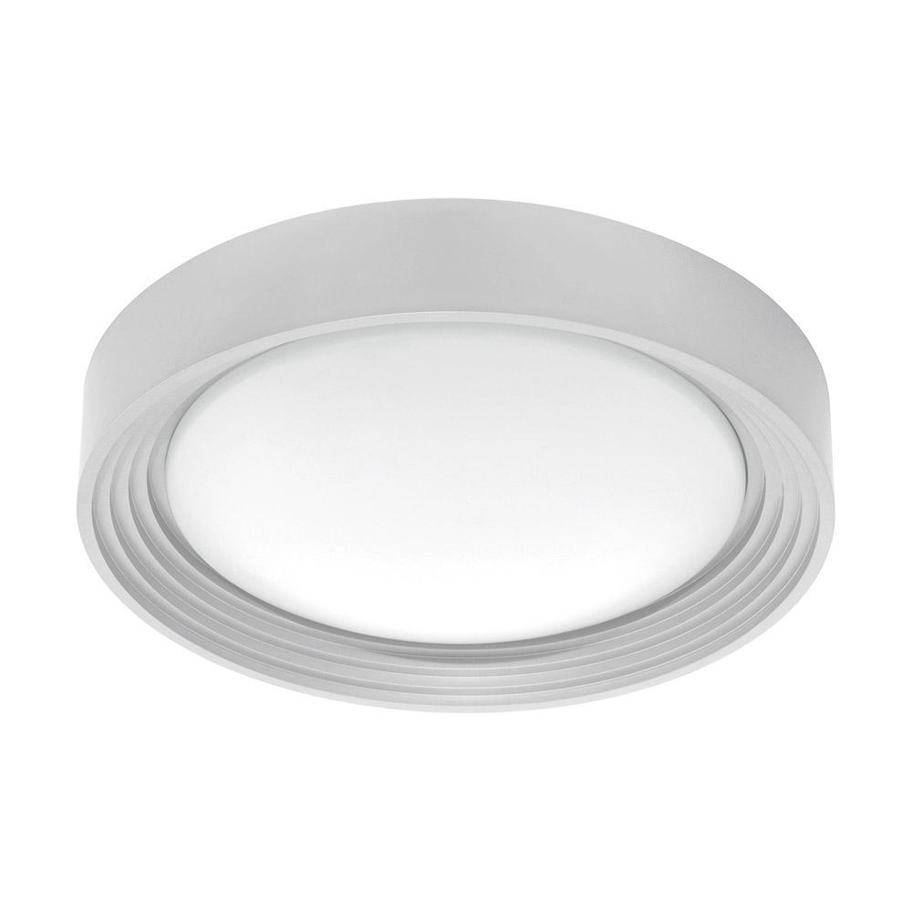 Ontaneda 1 60-Watt Matte Nickel Integrated LED Semi-Flushmount