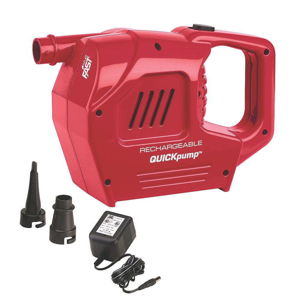 120-Volt Rechargeable Quick Pump