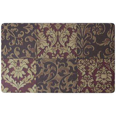 Gianno 18 in. x 30 in. Foam Comfort Kitchen Mat