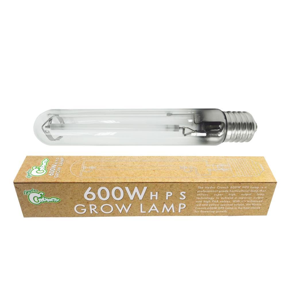600 Watt High Pressure Sodium Replacement Hid Grow Light Bulb