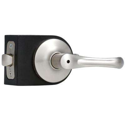 Premiere Essentials Satin Nickel Privacy Bed/Bath Somerset Door Lever