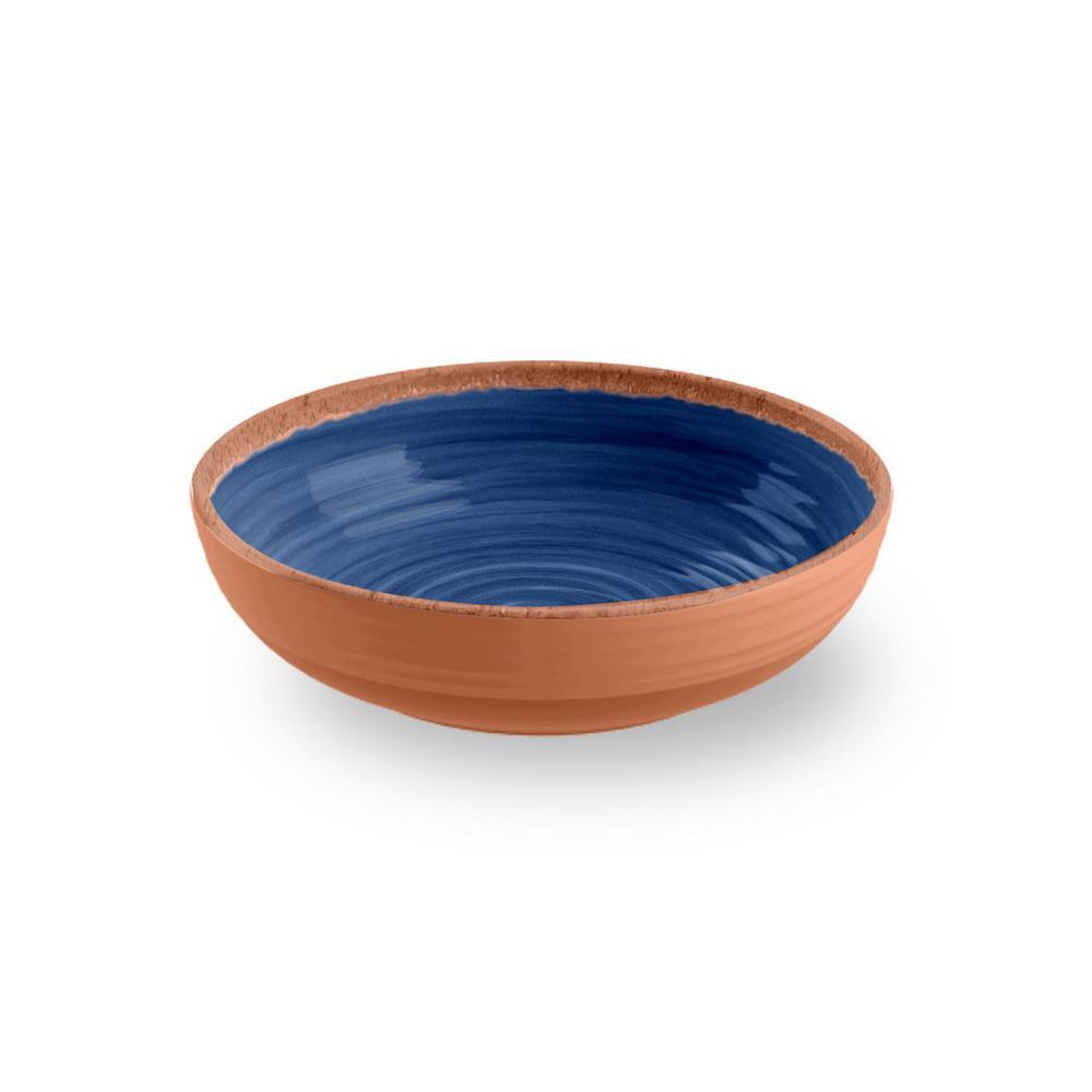 Rustic Swirl Indigo Bowl (Set of 6)