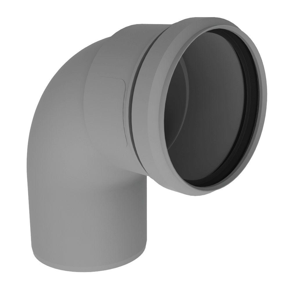 PolyPro 3 in. 90-Degree Elbow
