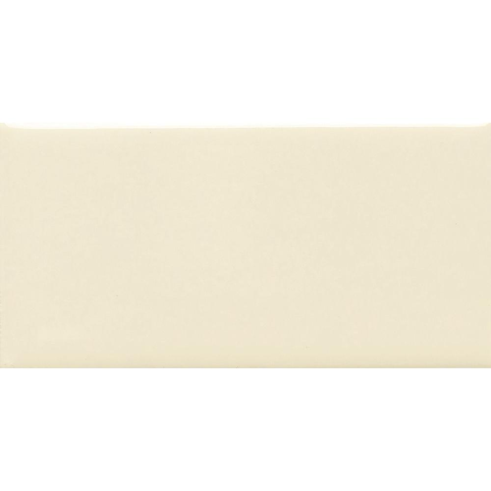 Daltile Modern Dimensions Biscuit 4-1/4 in. x 8-1/2 in. Ceramic Floor and Wall Tile (10.63 sq. ft. / case)