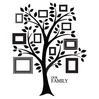 """48 in. x 36 in. Tree of """"R"""" Life Giant Wall Decal"""