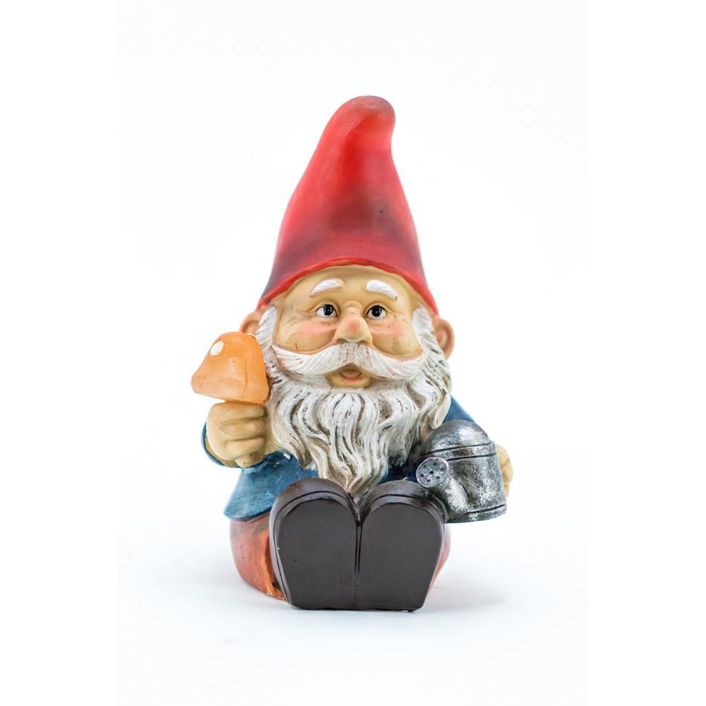 Gnome In Garden: Garden Gnome Plug