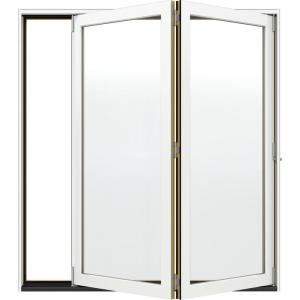 Jeld Wen 72 In X 80 In W 4500 White Clad Wood Left Hand