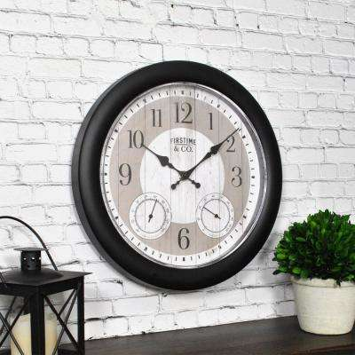Summer Cottage Outdoor Clock