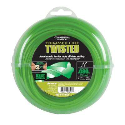 140 ft. Twisted 0.080 in. Trimmer Line for Most Gas String Trimmers