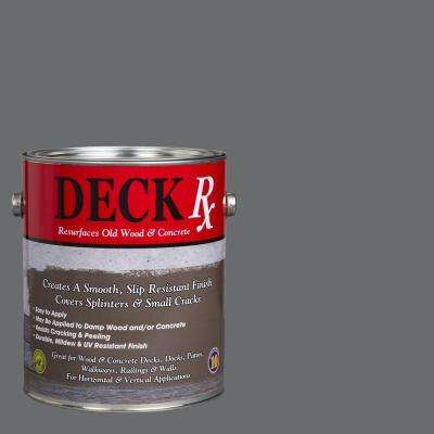Deck Rx 1 gal. Gray Wood and Concrete Exterior Resurfacer
