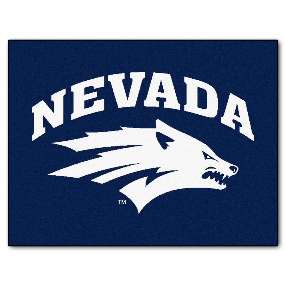Fanmats University Of Nevada 2 Ft 10 In X 3 Ft 9 In