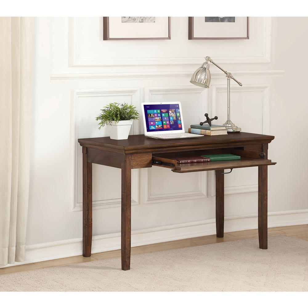 Foremost Rockwell Distressed Wheat Writing Desk