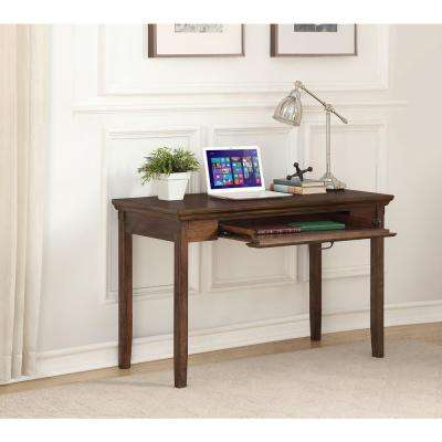 Rockwell Distressed Wheat Writing Desk