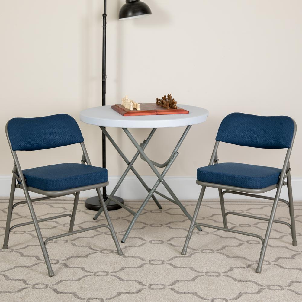 Flash Furniture Hercules Series Premium Curved Triple