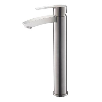 Livenza Single Hole 1-Handle Low-Arc Bathroom Faucet in Brushed Nickel