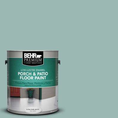 1 gal. #PPU12-08 Opal Silk Low-Lustre Interior/Exterior Porch and Patio Floor Paint