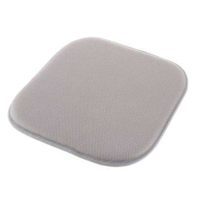Light Gray Memory Foam Non-Slip Chair Pad