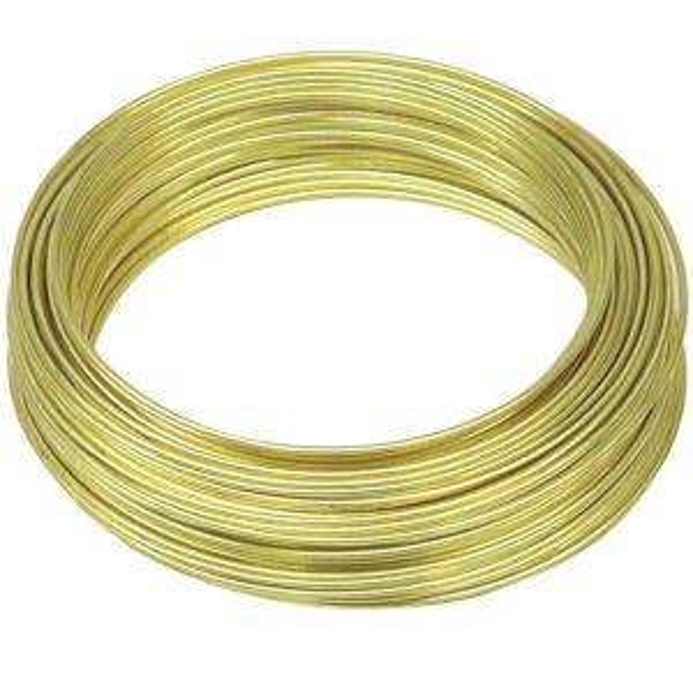 22-Gauge, 75 ft. Brass Hobby Wire