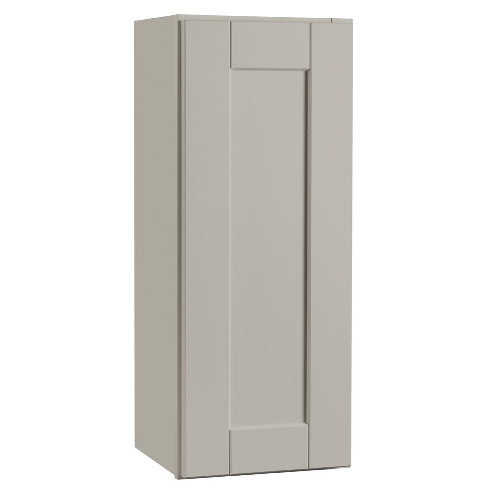 Hampton Bay Shaker Assembled 12x30x12 In. Wall Kitchen