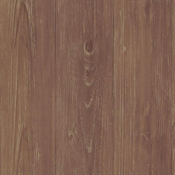 Chesapeake Mapleton Brick Faux Wood Texture Wallpaper CTR64221