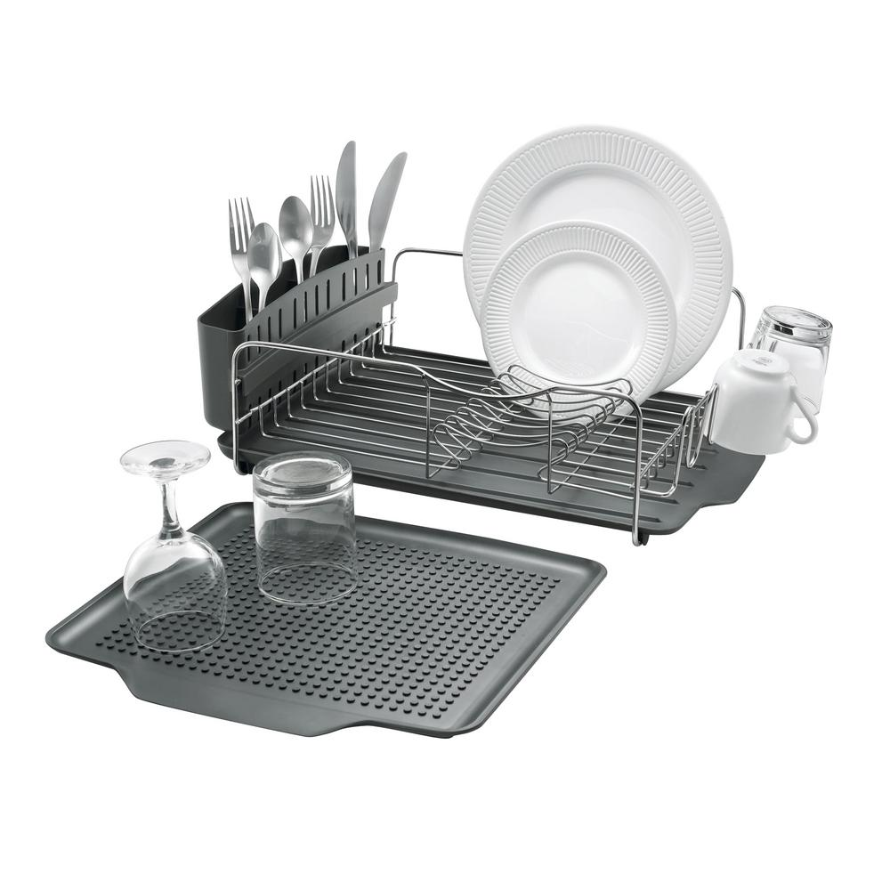 Polder 4-Piece Advantage Dish Rack-KTH-615RM