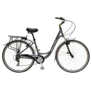 Hollandia Villa Commuter Bicycle, 700 c Wheels, 17 inch Frame, Women's Bike in Anthracite by Hollandia
