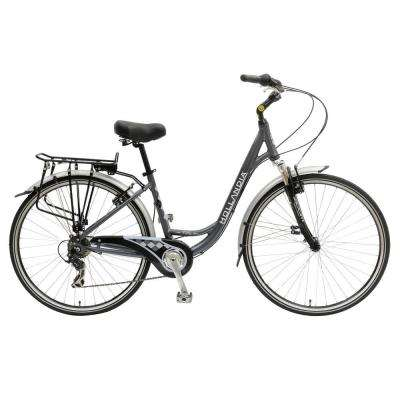 Villa Commuter Bicycle, 700 c Wheels, 17 in. Frame, Women's Bike in Anthracite