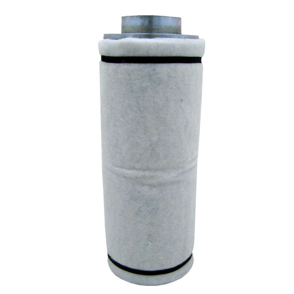 carbon air filter with flange 125 250 cfm exhaust - Air Filter Home
