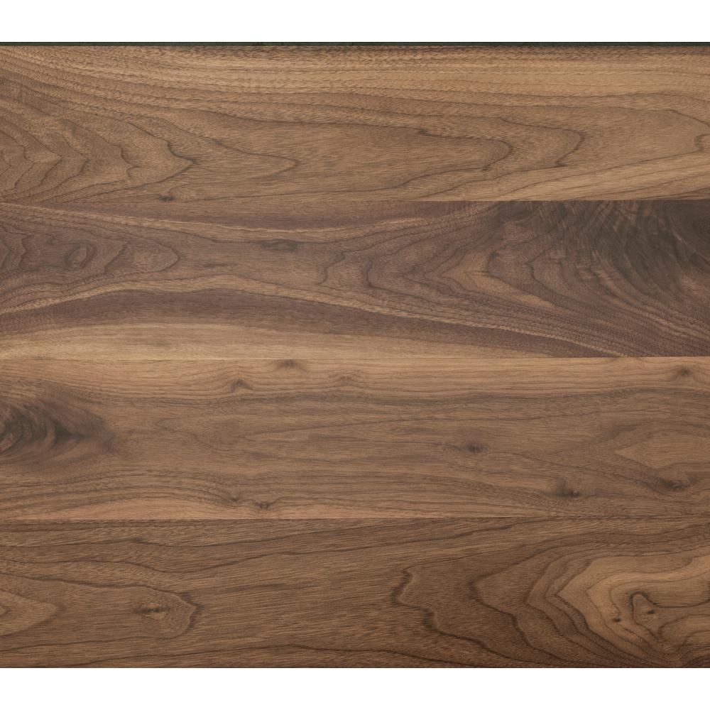 Clic Hardwoods Collection Take Home Sample Natural Walnut Engineered Hardwood Flooring 5