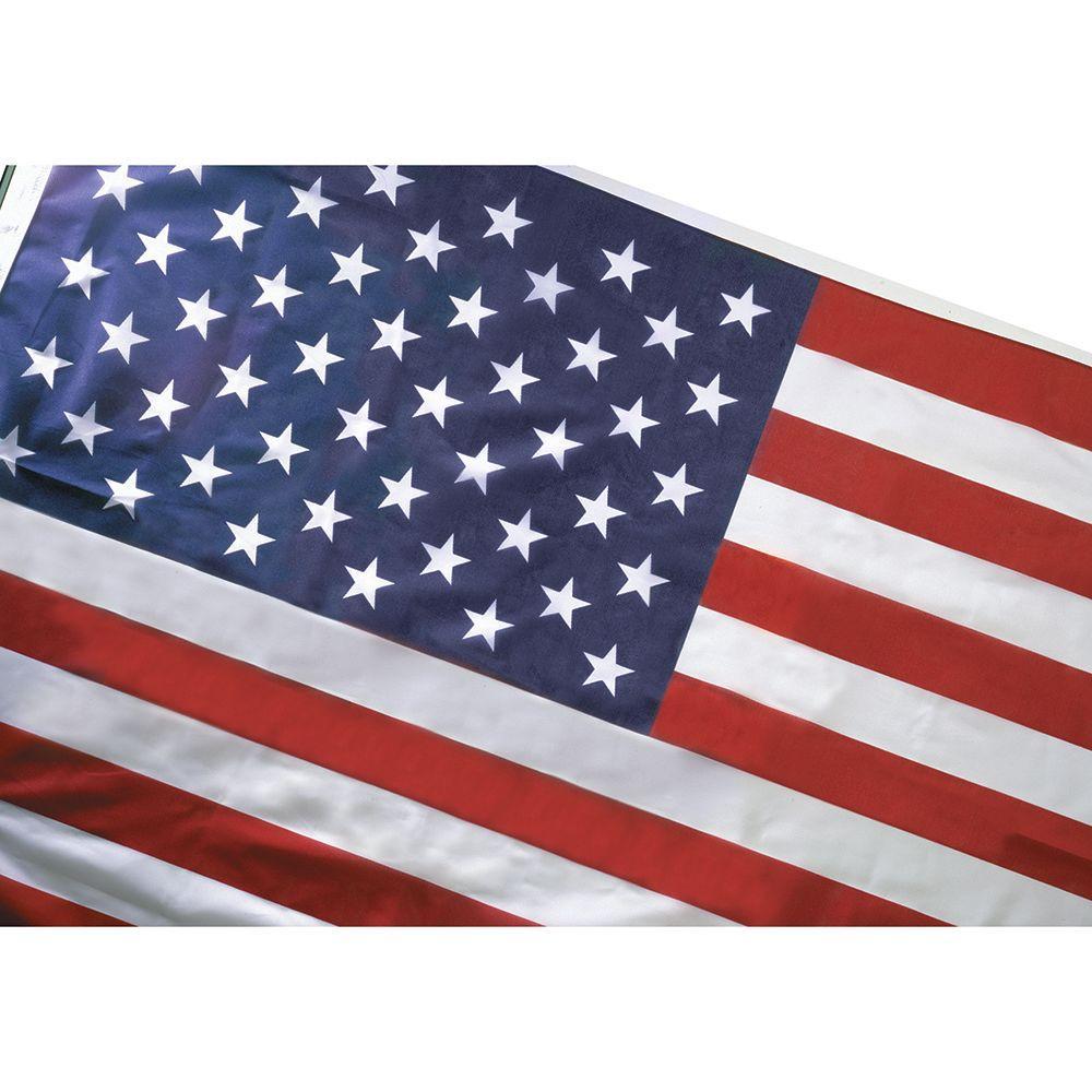 10 ft. x 15 ft. Polyester U.S. Flag