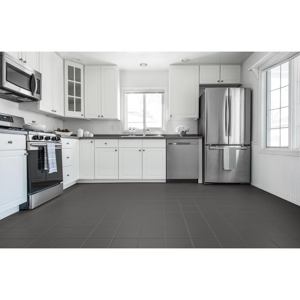 Dark Gray Interior Floor Base Coating