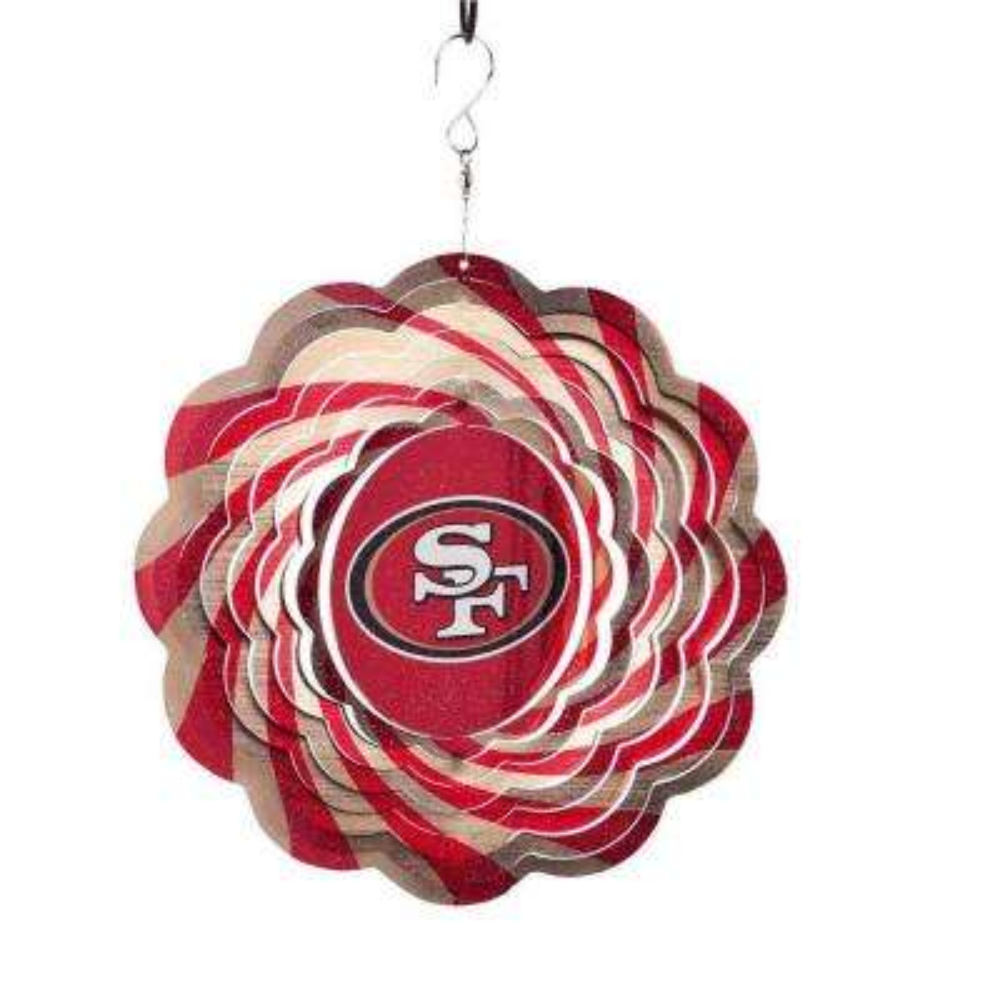NFL 10 in. San Francisco 49ers Geo Spinner