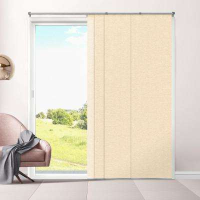 Cut-to-Length Eclipse Alpaca Cordless Polyester Panel - 80 in. W x 96 in. L