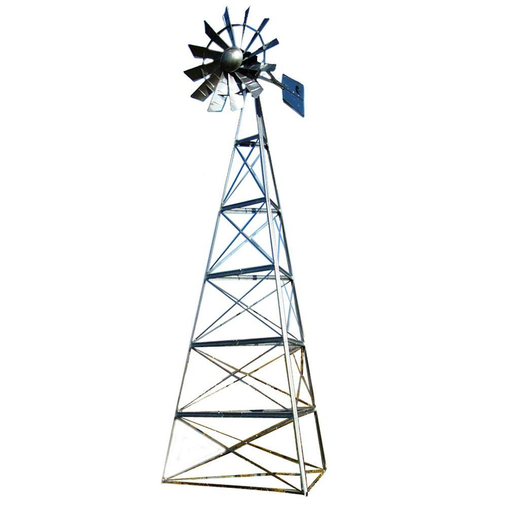 Outdoor Water Solutions 24 ft. Deluxe Windmill Aeration System