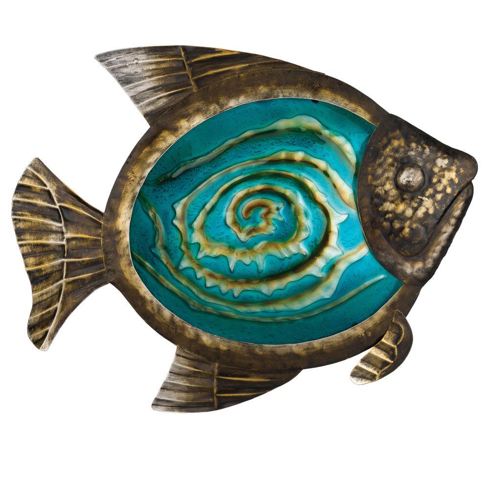 Regal 17 In Bronze Fish Wall Dcor