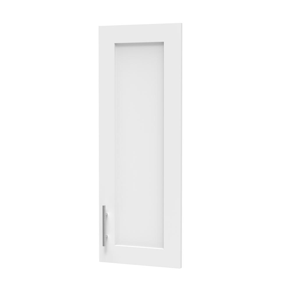 Modifi 0.75 in. D x 15 in. W x 40 in. H Madison Door Kit for Utility Wall Cabinet Melamine Closet System with Handle in White