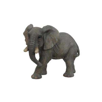 Walking Elephant Statue
