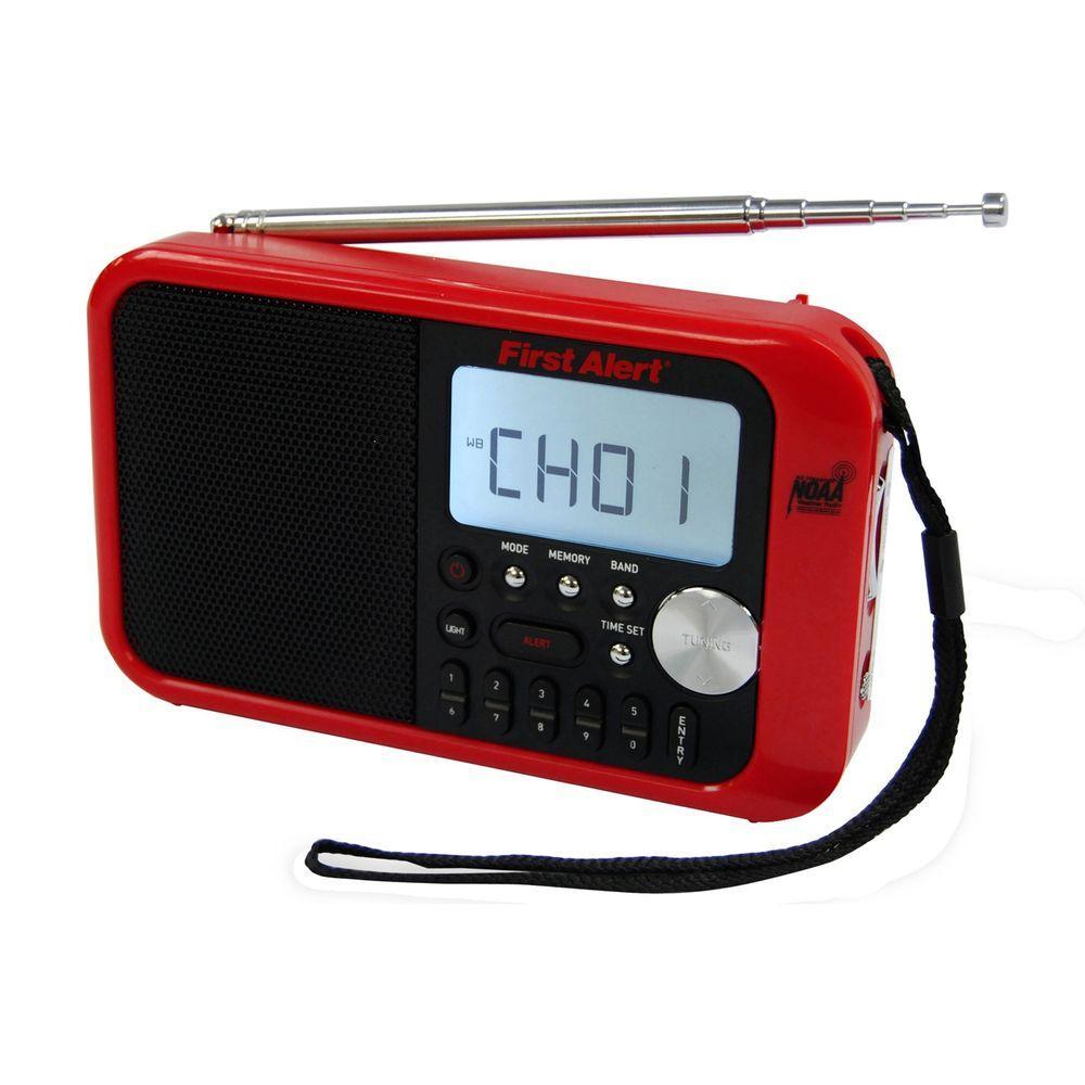 AM/FM Weather Band Digital Radio with Weather Alert