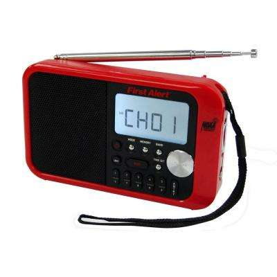 AM/FM Weather Band Digital Radio with Weather Alert
