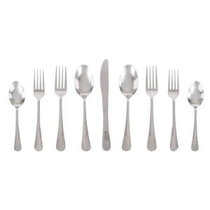 20-Piece Stainless Steel Flatware (Set for 4) by