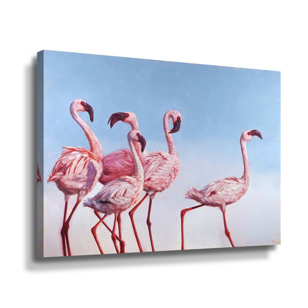 ' Pink Ladies' by  Lucia Heffernan Canvas Wall Art