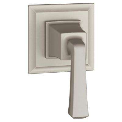 Town Square S 1-Handle Wall Mount Shower Diverter Valve Trim Kit in Brushed Nickel (Valve Not Included)