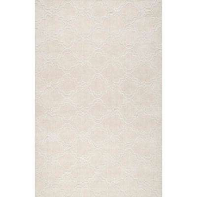 Wilhelmina Cream 6 ft. x 9 ft. Area Rug