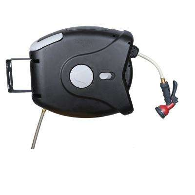 XG Series 75 ft. Retractable Garden Hose Reel Includes Hose and Spray Nozzle