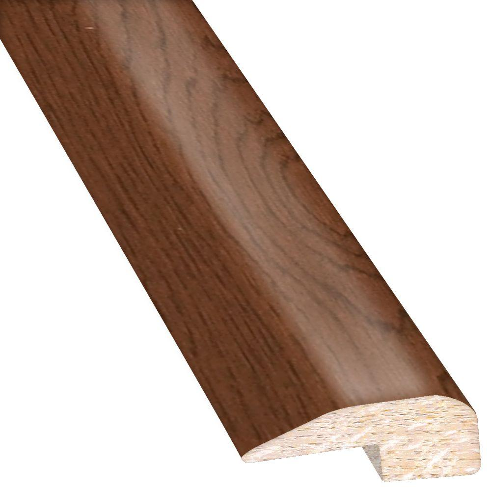 Vintage Hickory Mocha 0.88 in. Thick x 2 in. Wide x 78 in...