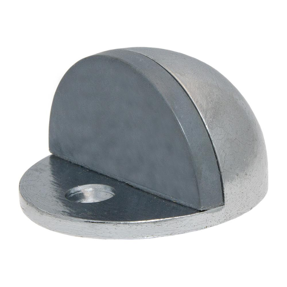 Satin Chrome Half Dome Low Rise Door Stop