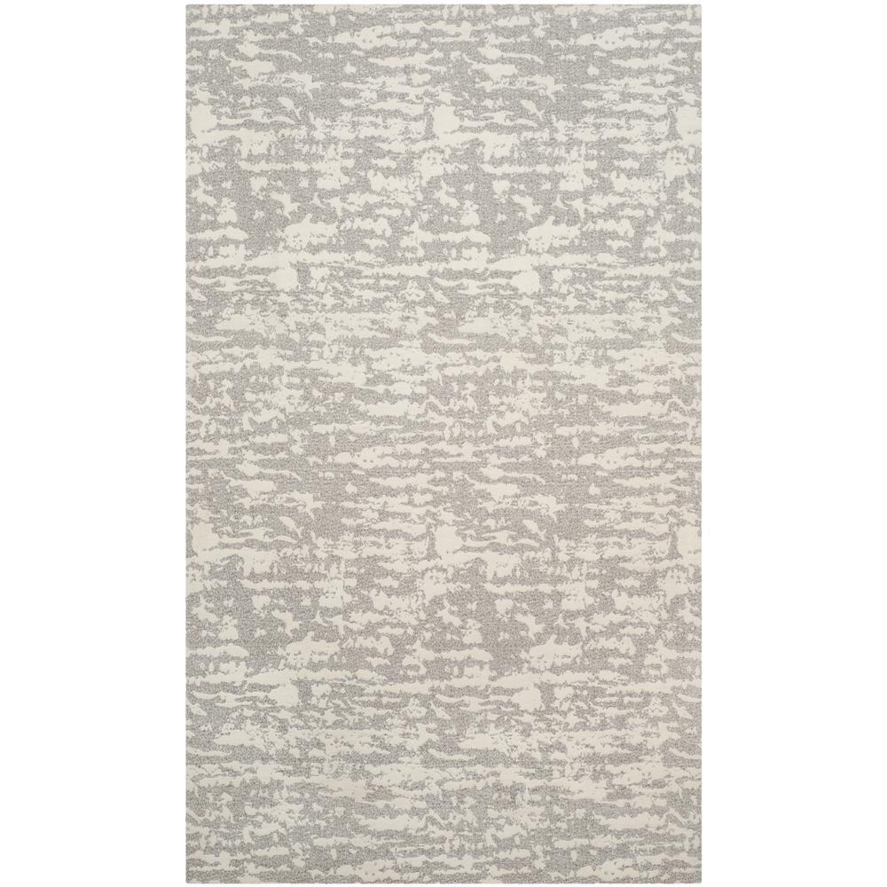 Marbella Light Gray/Ivory 8 ft. x 10 ft. Area Rug