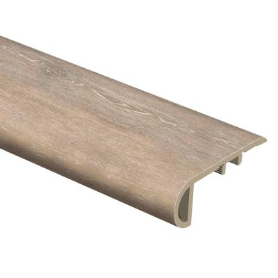 Radiant Oak 1 in. Thick x 2-1/2 in. Wide x 94 in. Length Vinyl Stair Nose Molding